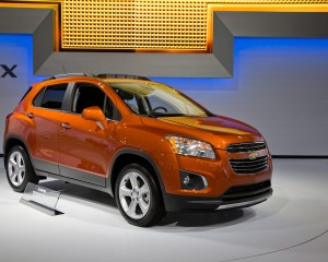 2015 Chevrolet Trax Exterior Design