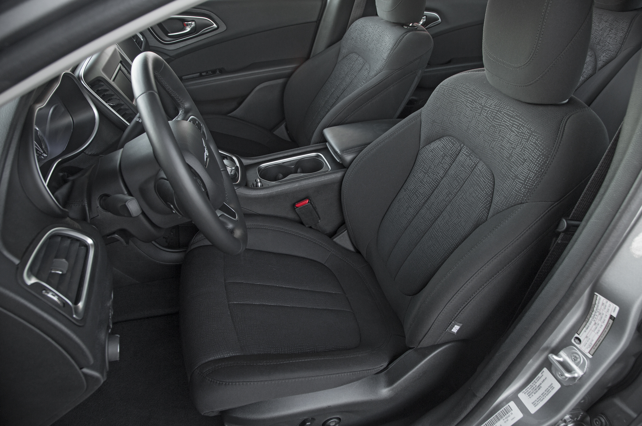 2015 Chrysler 200 Front Interior