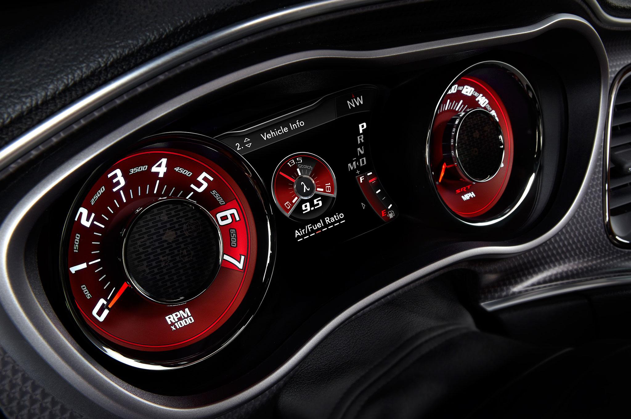dodge challenger hellcat interior. 2015 dodge challenger speedometer hellcat interior