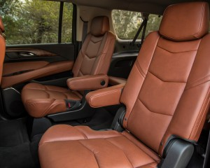 2015 Cadillac Escalade Rear Interior Seat View
