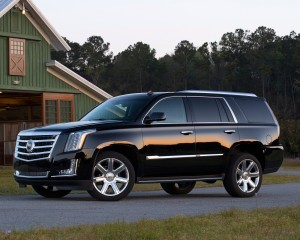 2015 Cadillac Escalade Side View