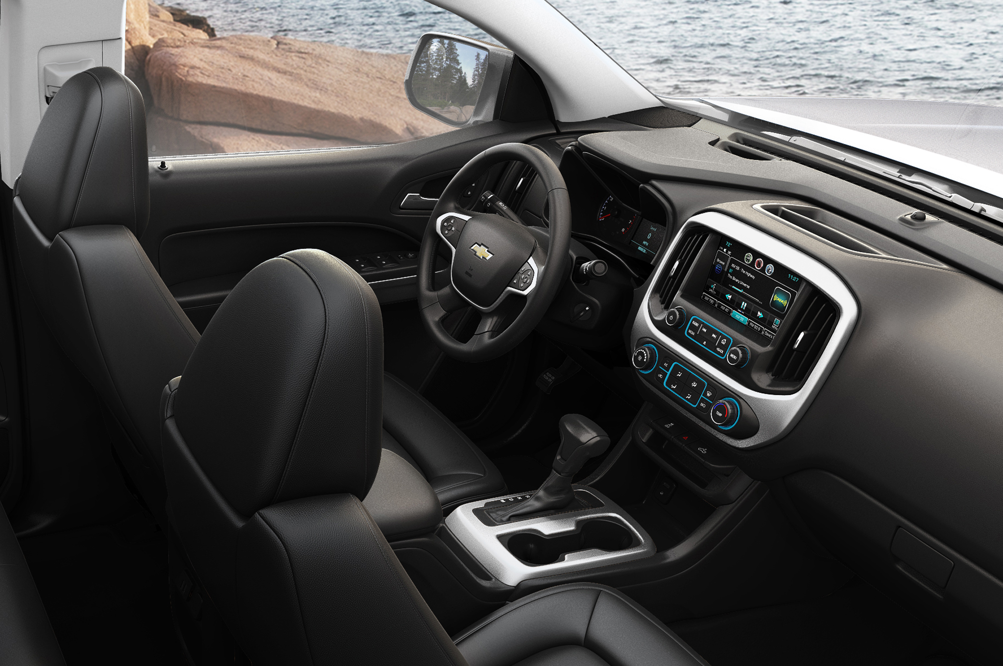 2015 chevrolet colorado cockpit dimensions