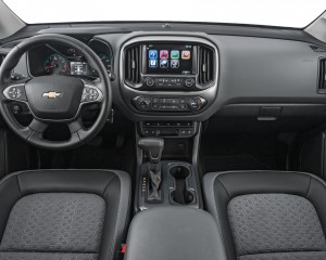 2015 chevrolet colorado dashboard and interior