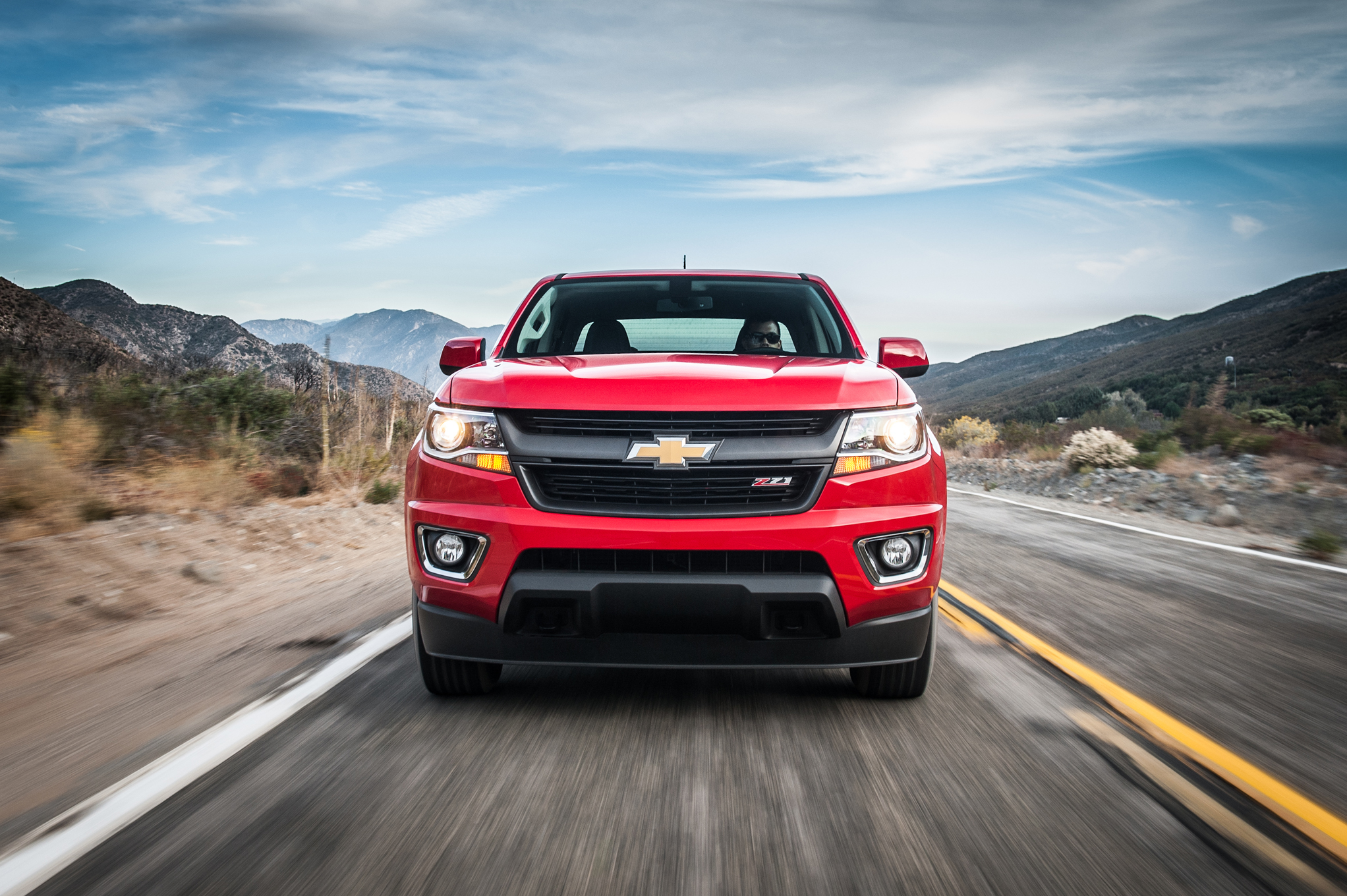 2015 chevrolet colorado front exterior