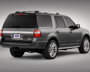 2015 Ford Expedition Rear Exterior