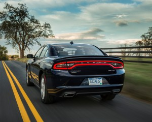 2015 Dodge Charger SXT AWD Exterior Rear and Side View
