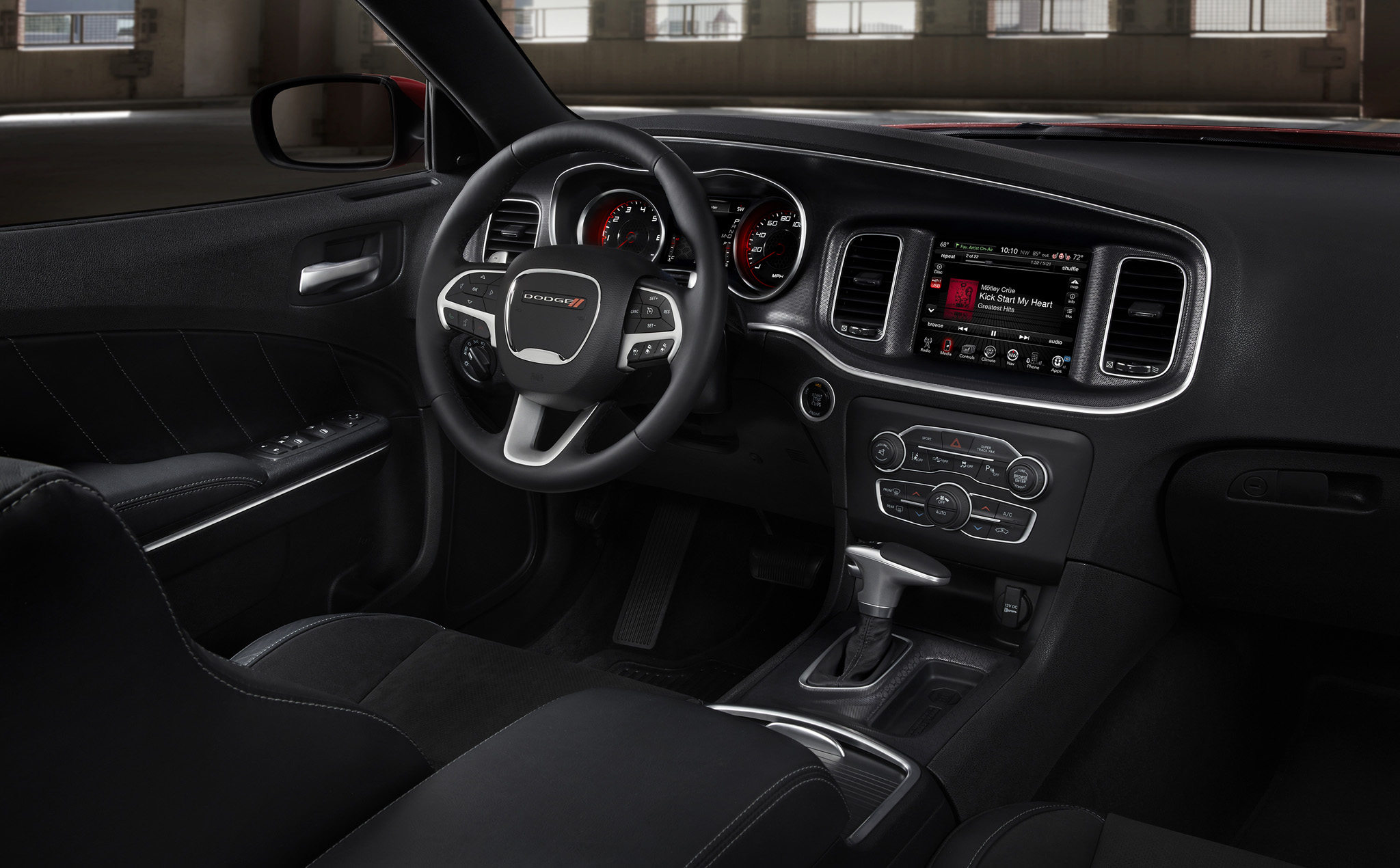 2015 Dodge Charger Front Interior Details