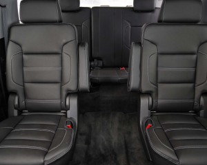 2015 GMC Yukon XL Center and Rear Seat Interior