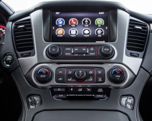 2015 GMC Yukon XL Interior Head Unit Profile