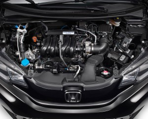 2015 Honda Fit Engine Profile