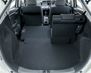 2015 Honda Fit Rear Interior and Space