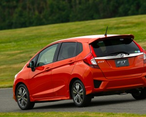 2015 Honda Fit Rear Side Design