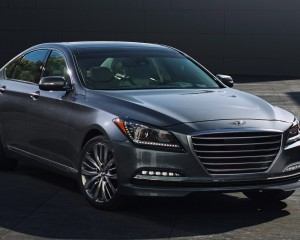 2015 Hyundai Genesis Exterior Profile