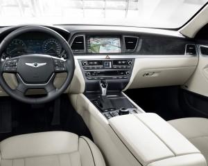 2015 Hyundai Genesis Head Unit Dashboard and Cockpit