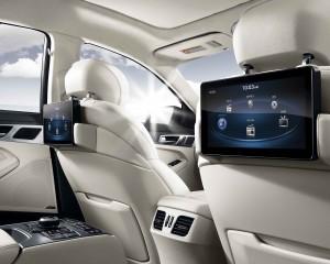 2015 Hyundai Genesis Rear Interior View