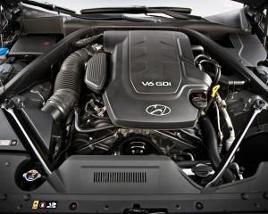 2015 Hyundai Genesis V6 Engine Profile