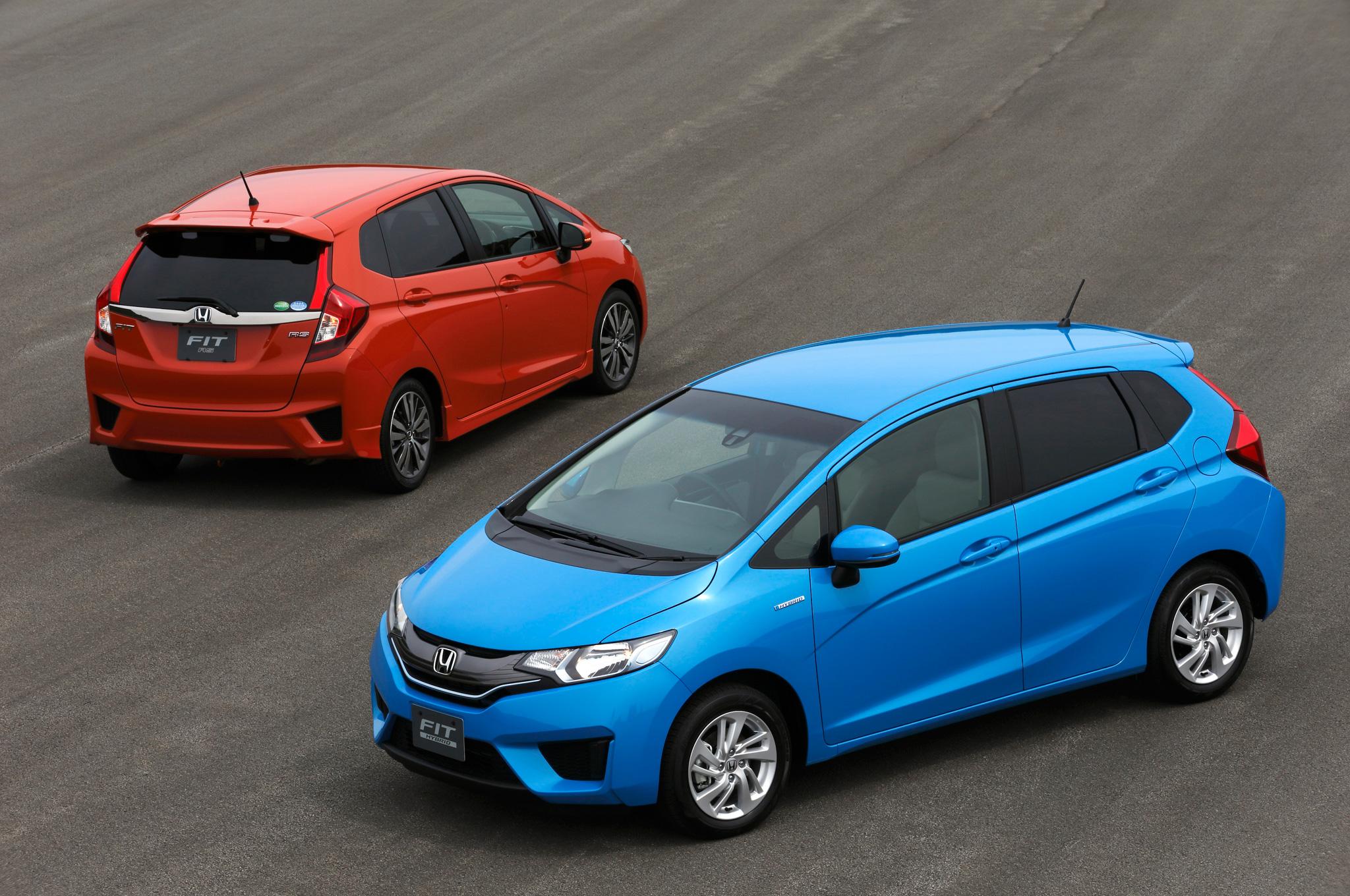 New 2015 Honda Fit Exterior