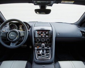 2015 Jaguar F-Type Coupe Dashboard Interior