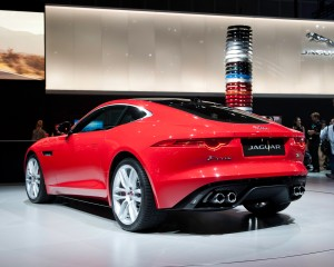 2015 Jaguar F-Type Coupe Exterior Profile