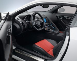 2015 Jaguar F-Type Coupe Front Cockpit Interior