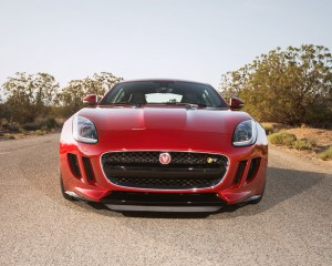 2015 Jaguar F-Type Coupe Front End