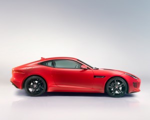 2015 Jaguar F-Type Coupe Side Design
