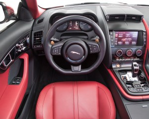 2015 Jaguar F-Type Coupe V8 Cockpit