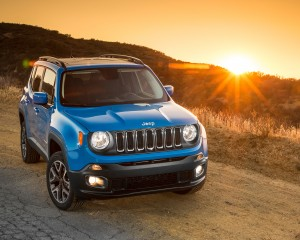 2015 Jeep Renegade Front Exterior View