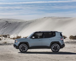 2015 Jeep Renegade Trailhawk Side View