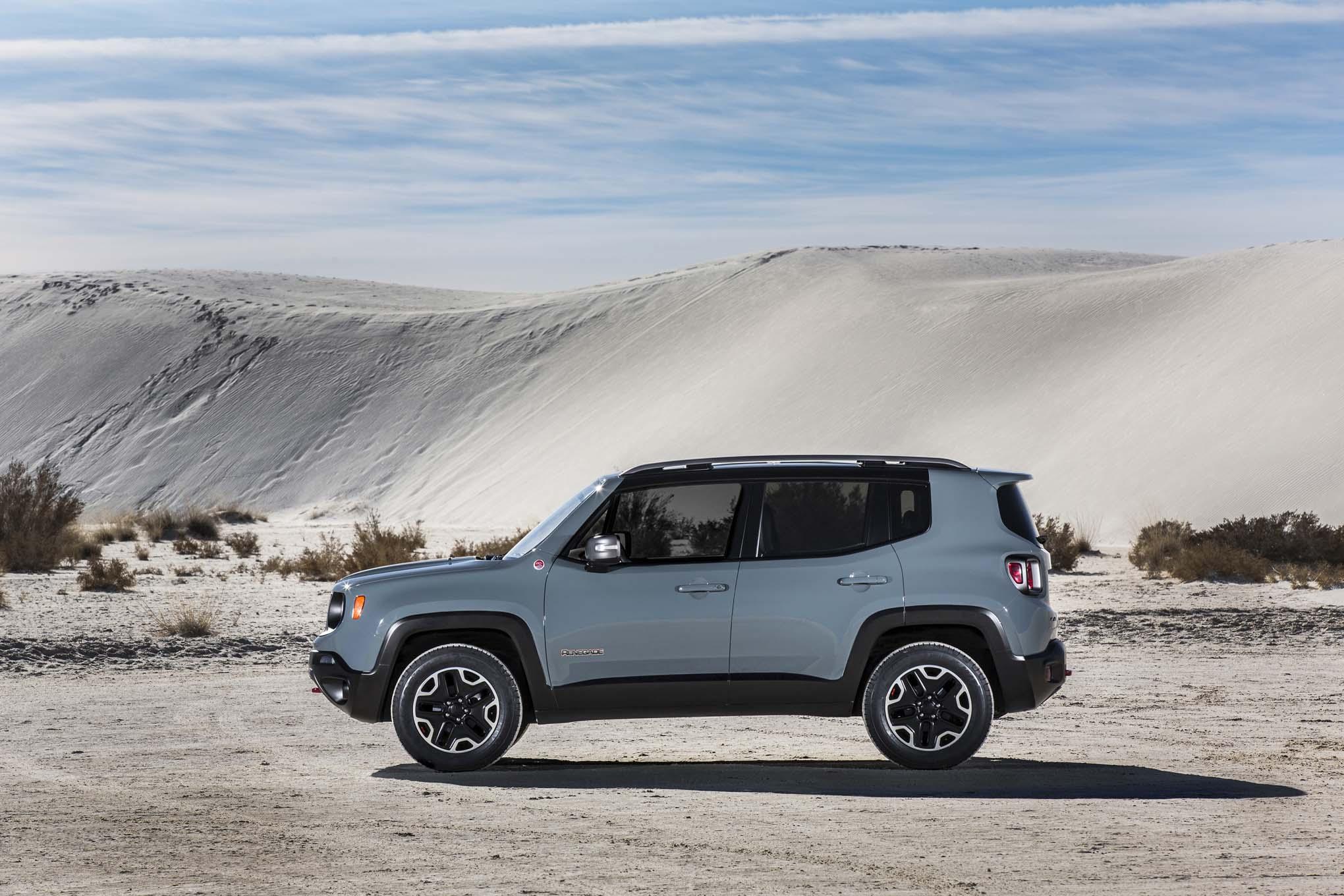 2015 Jeep Renegade Trailhawk Side View