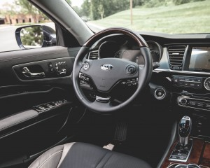 2015 Kia K900 Interior Cockpit
