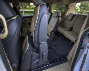 2015 Kia Sedona Rear Interior