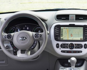 2015 Kia Soul EV Cockpit and Head Unit Dashboard