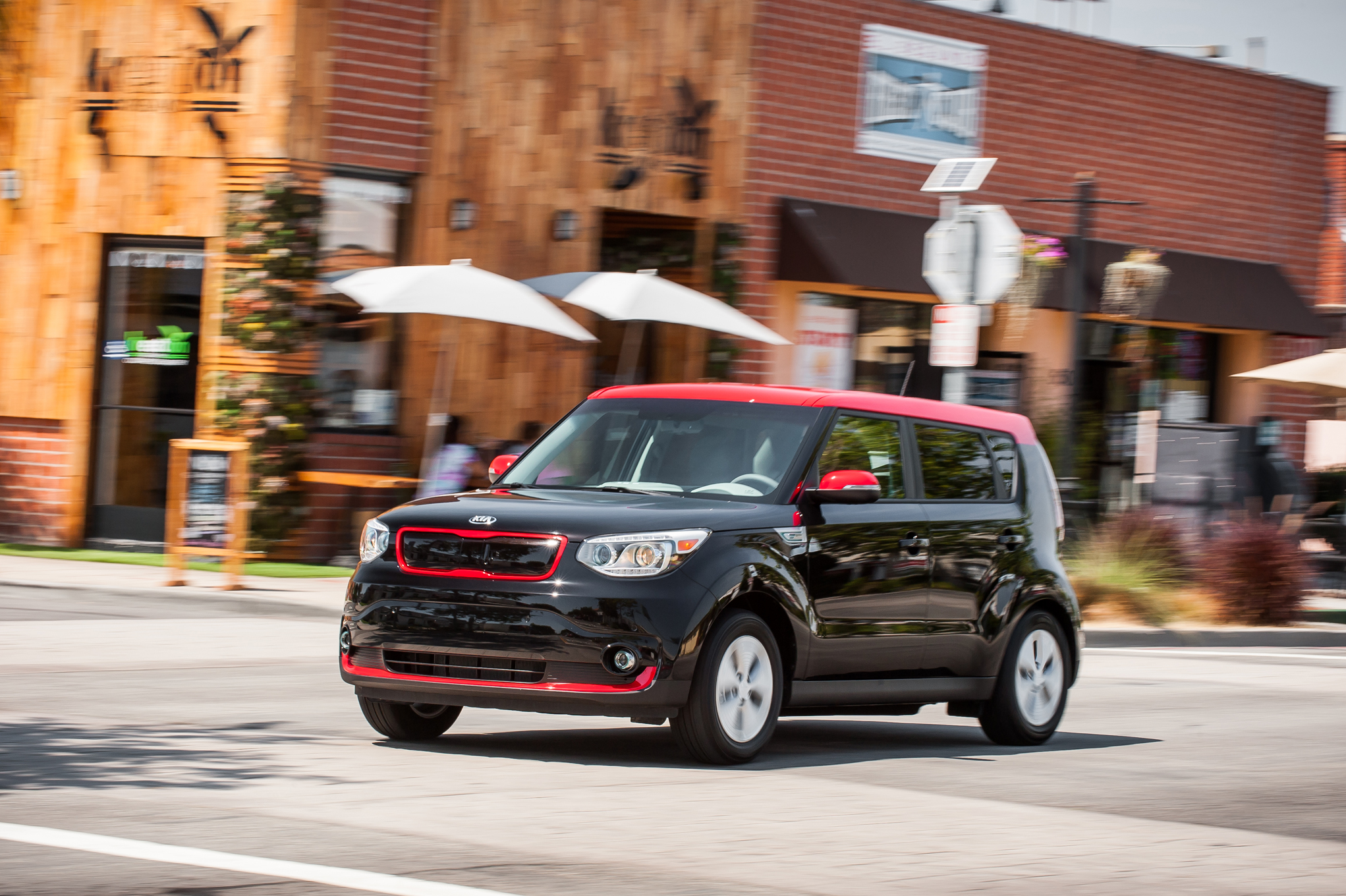 2015 Kia Soul EV Test Drive Photo