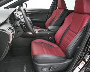 2015 Lexus NX Driver Seats View