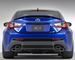 2015 Lexus RC F Rear Photo Details