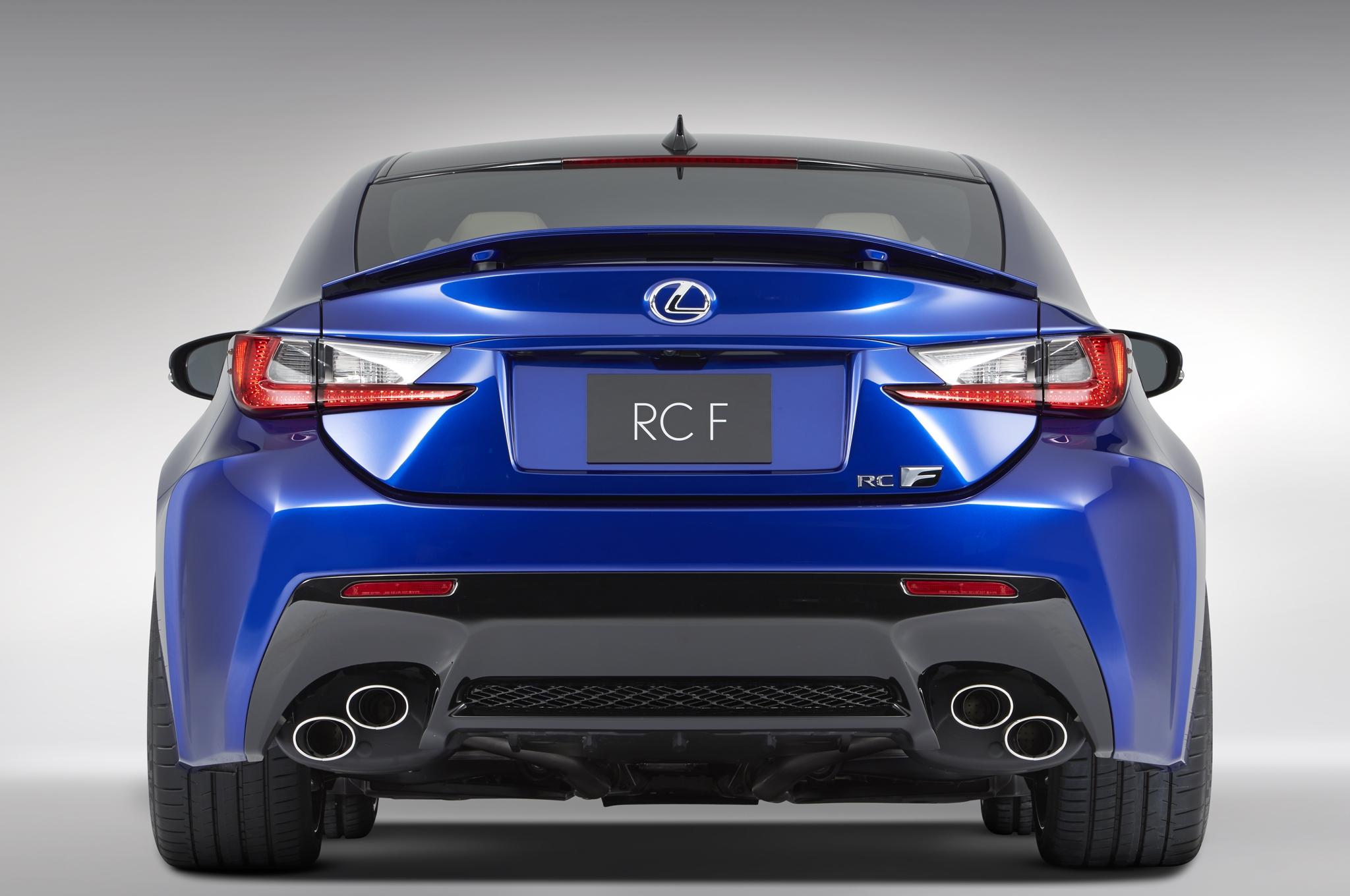 2015 Lexus RC F Rear Photo Details