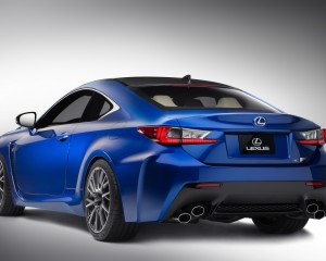 2015 Lexus RC F Rear Side Exterior
