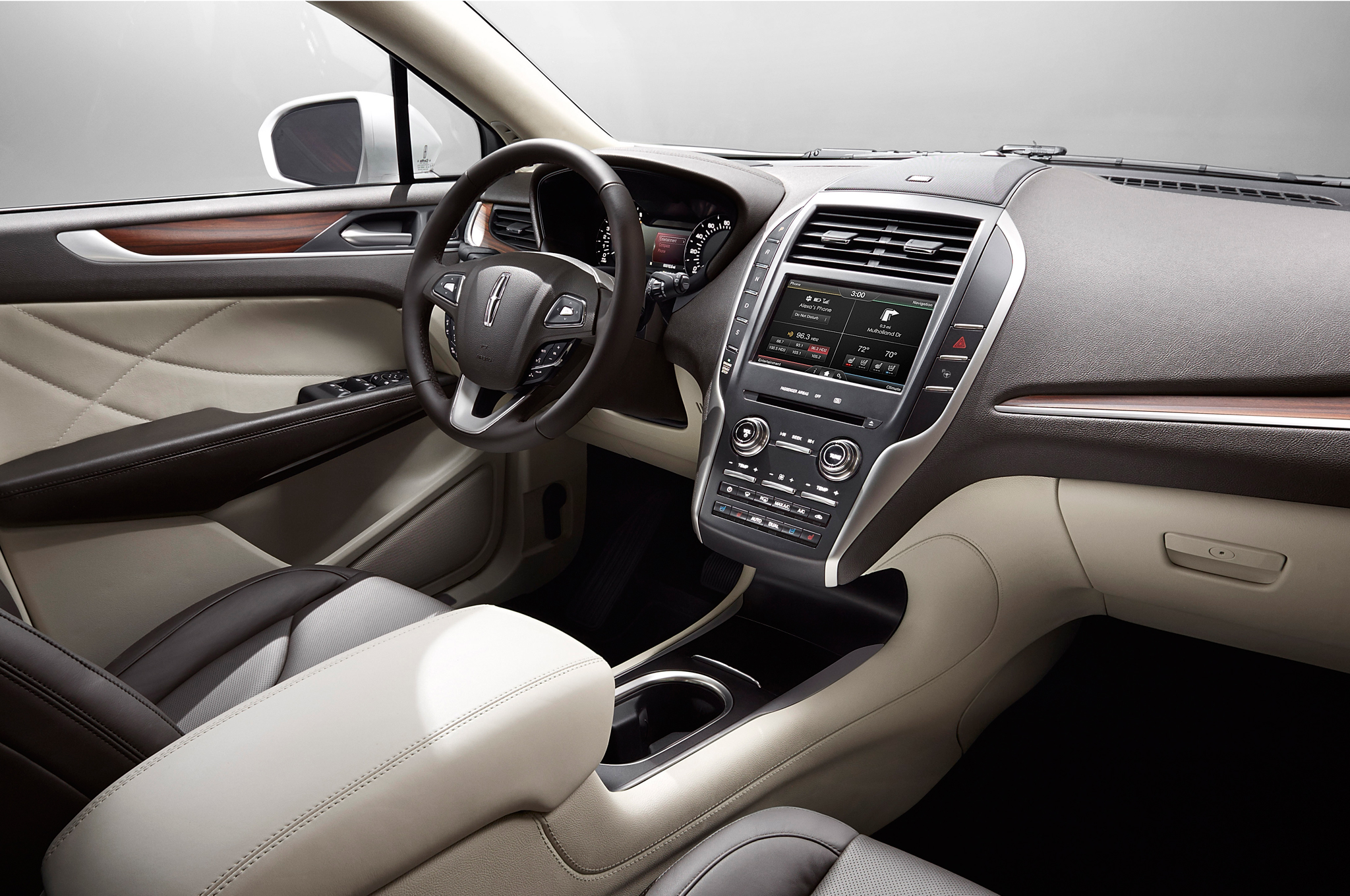 2015 Lincoln MKC Front Seats Interior