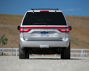 2015 Lincoln Navigator Rear Design