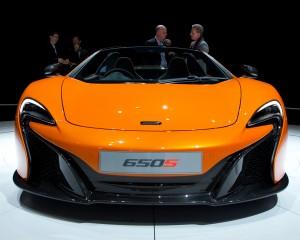 2015 McLaren 650S Front Photo