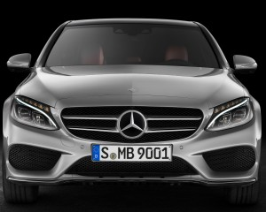 2015 Mercedes-Benz C-Class Front End Design