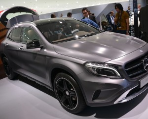 2015 Mercedes-Benz GLA-Class Auto Show