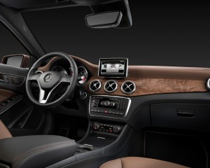 2015 Mercedes-Benz GLA-Class Front Interior
