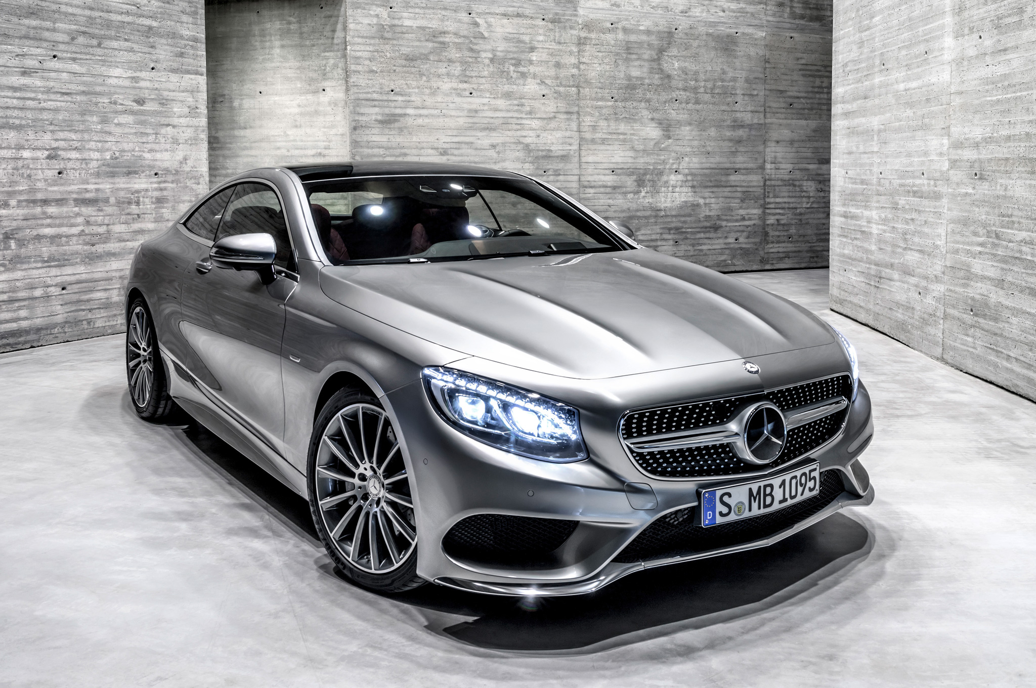 2015 mercedes-benz s-class coupe lights on #888 | cars performance