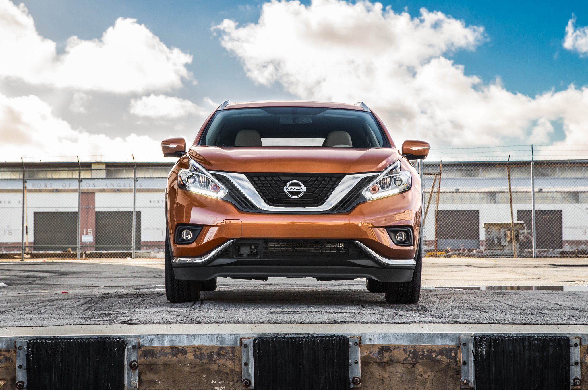 2015 Nissan Murano Front Exterior