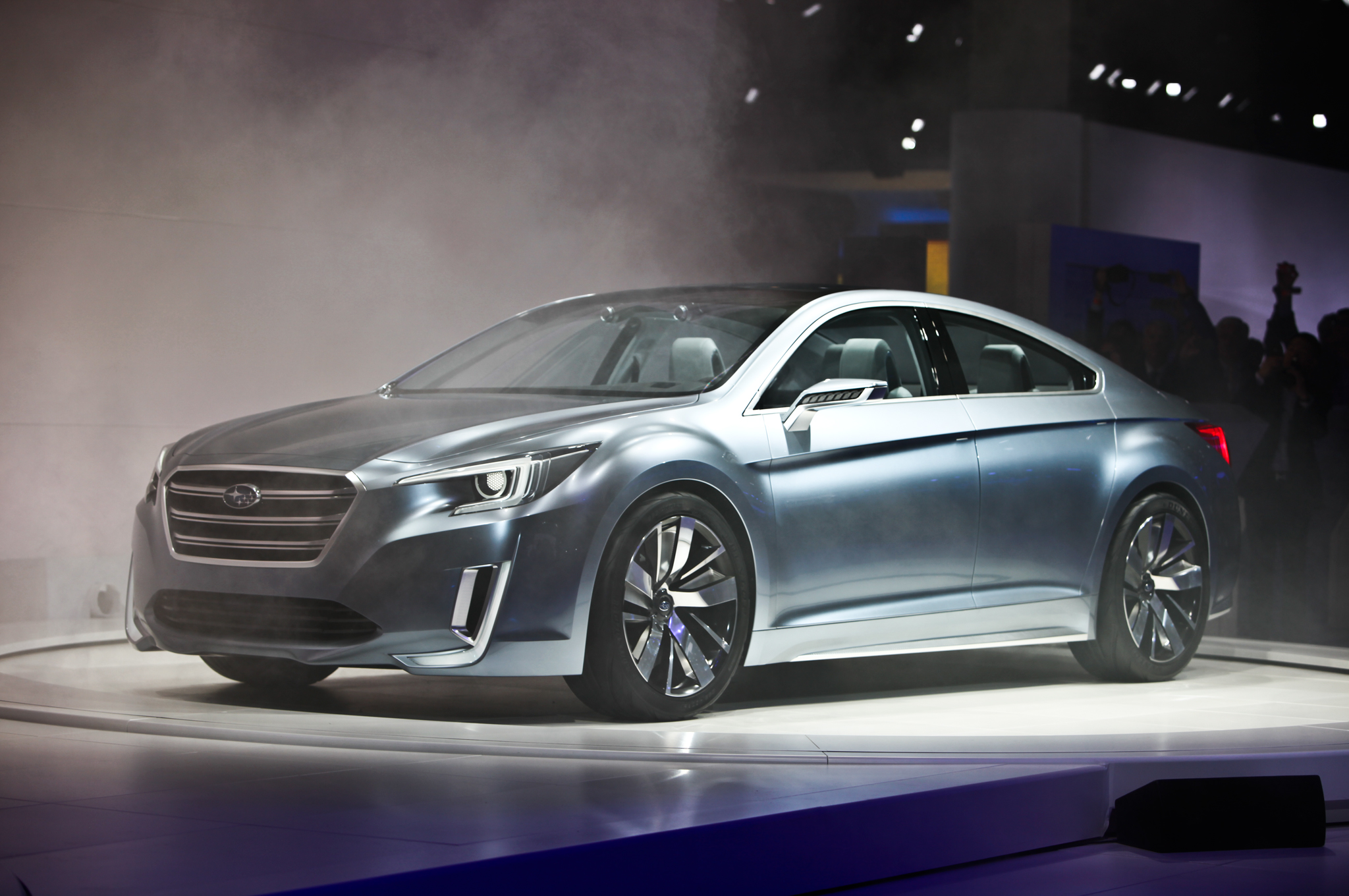 2015 Subaru Legacy Front Side Model