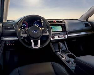 2015 Subaru Legacy Interior Dashboard and Cockpit