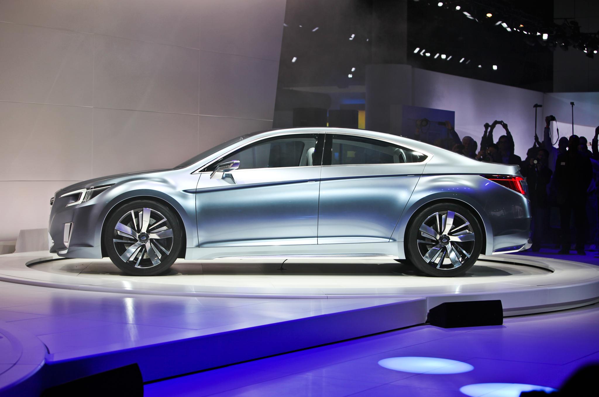 2015 Subaru Legacy Side Model