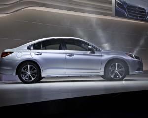 2015 Subaru Legacy Side View Auto Show